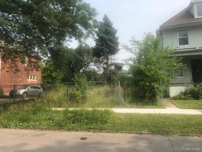 Detroit Residential Lots & Land For Sale: 420 Melbourne