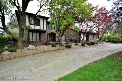 Farmington Hills Single Family Home For Sale: 31275 Applewood Ln