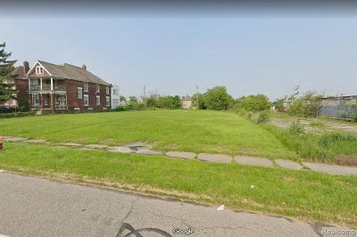 Detroit Residential Lots & Land For Sale: 1733 W Grand Blvd