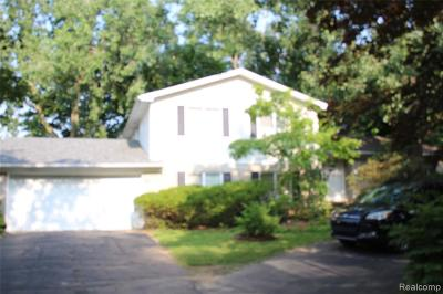 West Bloomfield Single Family Home For Sale: 7421 Heather Heath Ln