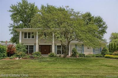 Farmington Hills Single Family Home For Sale: 25330 Arden Park Dr