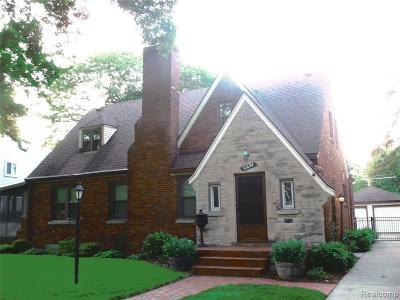 Livonia Single Family Home For Sale: 31624 W Chicago St