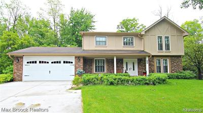 West Bloomfield Single Family Home For Sale: 6462 Odessa Crt