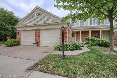 Canton Condo/Townhouse For Sale: 43682 Christopher Crt