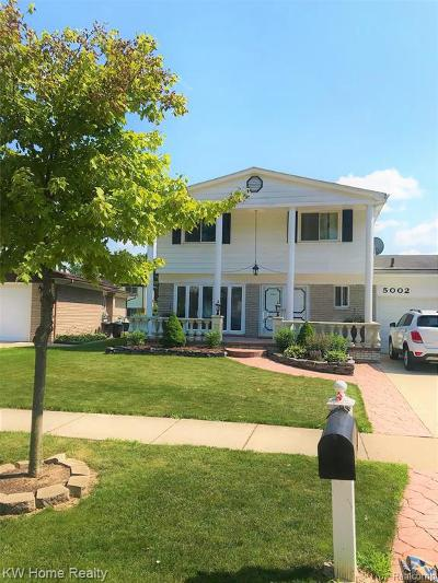 Sterling Heights Single Family Home For Sale: 5002 Surrey Dr