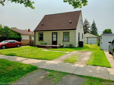 Taylor Single Family Home For Sale: 6850 Beech Daly Rd