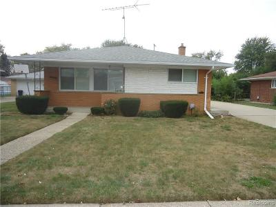 Clinton Township Single Family Home For Sale: 35247 Weideman St
