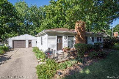 Flushing Single Family Home For Sale: 372 W River Rd