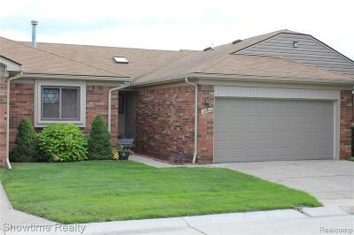 Sterling Heights Condo/Townhouse For Sale: 13843 Bayview Dr