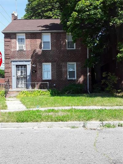 Detroit Single Family Home For Sale: 16260 Washburn St