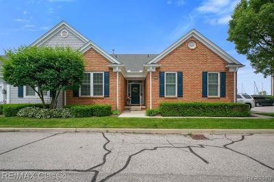 Saint Clair Shores Condo/Townhouse For Sale: 9007 Harbor Place Dr