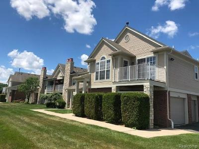 Macomb Condo/Townhouse For Sale: 52204 Naugatuck Dr