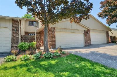 West Bloomfield Condo/Townhouse For Sale: 4253 Foxpointe Dr