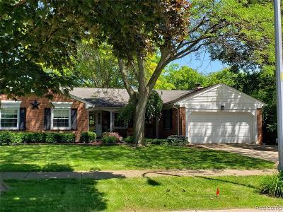Livonia Single Family Home For Sale: 17166 Wayne Rd