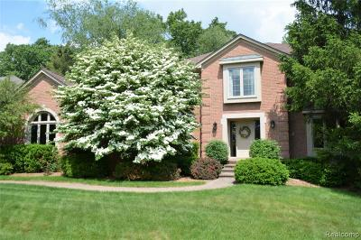 Bloomfield Hills Single Family Home For Sale: 2795 Hunters Blf
