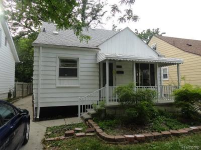 Lincoln Park Single Family Home For Sale: 1438 Pingree Ave