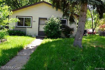 Pontiac Single Family Home For Sale: 231 Parkdale Ave