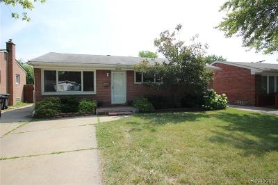 Taylor Single Family Home For Sale: 8067 Pardee Rd