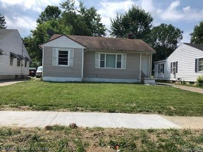Flint Single Family Home For Sale: 544 Buckingham Ave
