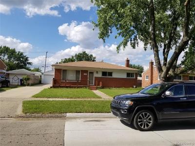 Warren Single Family Home For Sale: 3631 Garrick Ave