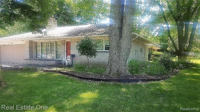 Southfield Single Family Home For Sale: 19351 Hickory Leaf St