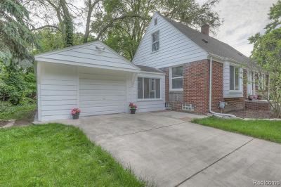 Royal Oak Single Family Home For Sale: 4317 Olivia Ave