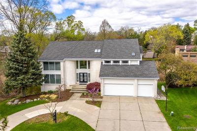 West Bloomfield Single Family Home For Sale: 2998 Chambord Dr