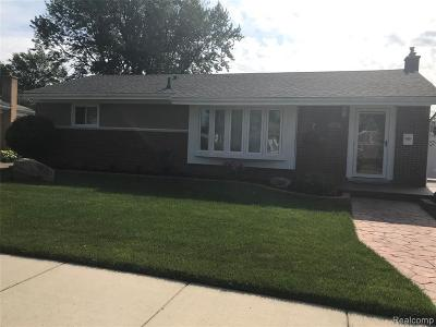 Trenton Single Family Home For Sale: 2905 Concord St