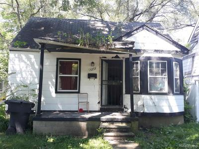 Detroit Single Family Home For Sale: 19335 Archdale St
