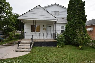 Macomb Single Family Home For Sale: 11043 Ford Ave