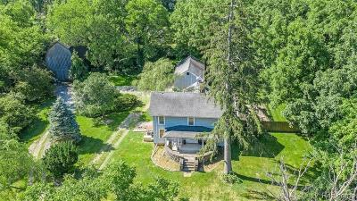 Franklin Single Family Home For Sale: 25331 W 13 Mile Rd