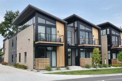 Ferndale Condo/Townhouse For Sale: 1711 Livernois St
