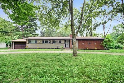 Southfield Single Family Home For Sale: 19633 Mahon St