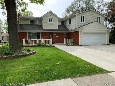 Dearborn Single Family Home For Sale: 411 N Beech Daly Rd