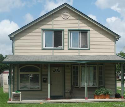 Saint Clair Shores Single Family Home For Sale: 19903 Martin Rd