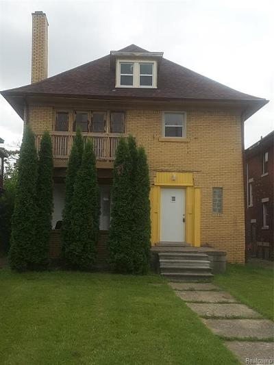 Detroit Multi Family Home For Sale: 1613 Virginia Park St
