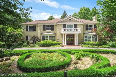 Bloomfield Hills Single Family Home For Sale: 1253 Covington Rd