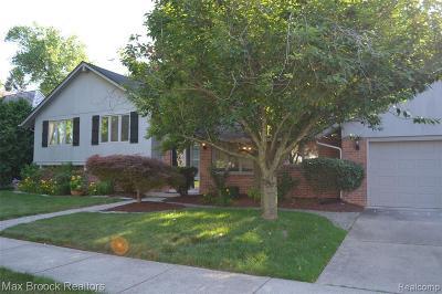 Birmingham Single Family Home For Sale: 270 S Glenhurst Dr