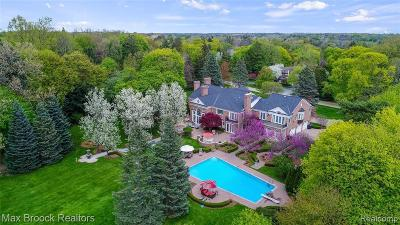 Bloomfield Hills Single Family Home For Sale: 1115 Country Club Rd