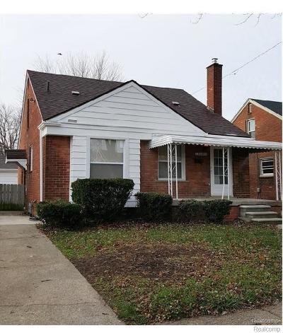 Allen Park Single Family Home For Sale: 14609 Warwick Ave