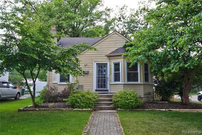 Royal Oak Single Family Home For Sale: 1423 N Blair Ave