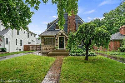 Royal Oak Single Family Home For Sale: 626 Lawson St
