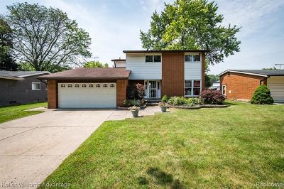 Southfield Single Family Home For Sale: 25405 Catalina St