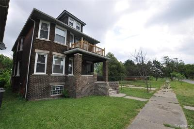 Detroit Multi Family Home For Sale: 5180 Vermont St