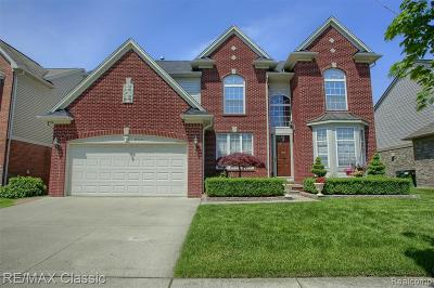 Shelby Twp Single Family Home For Sale: 6717 Twickenham