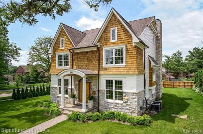 Birmingham Single Family Home For Sale: 1080 Pleasant St