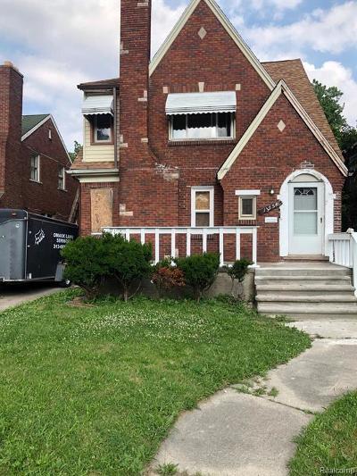 Detroit Multi Family Home For Sale: 13954 Coyle St