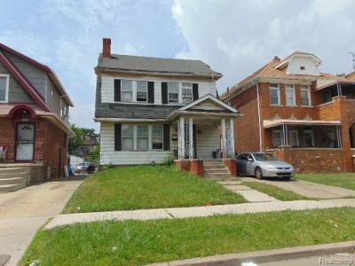 Detroit Single Family Home For Sale: 12095 Santa Rosa Dr