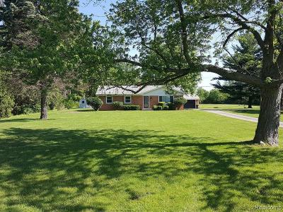 Canton Single Family Home For Sale: 51320 Ford Rd