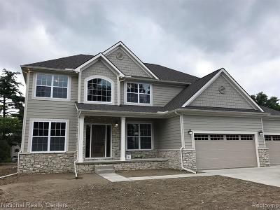 Lake Orion Single Family Home For Sale: 2 Waldon Meadows Crt